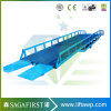 10ton 12ton 14ton Manual Hydraulic Forkllift Container Loading Ramp