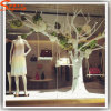 Shop Decoration Fiberglass Artificial White Dry Tree Branches