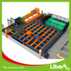Professional Gymnastic Indoor Trampolin Park with Spider Tower and Olympic Mat