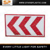 Solar LED Arrow Direction Warning Traffic Sign Board