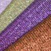 Metallic Silk Imitation Glitter PU Leather for Bag Shoe