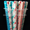 Disposable Colorful Cold Hot Drinking Paper Straw FDA Food Grade