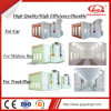 Factory Supply Full Down Draft Auto Industrial Spray Painting Booth Cabinet