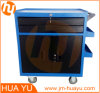 Moving Tool Box with Lockable Drawer and Compartment