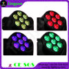 Professional Stage Lighting 7PCS LED Mini Moving Head Beam 12W RGBW