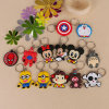 Children Lovers Promotion Gift Cartoon Animal Keychain