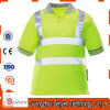 Reflective Strip High Visibility Safety Polo T-Shirt