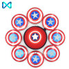 HS116 Captain America Shield Shaped Spinner Top Sell Fidget Spinner