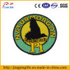 Round Shape Promotional Colorful Embroidery Patches