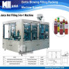 New Tech Aseptic Glass Bottle Fruit Juice Filling Machine