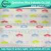 SGS Certification Panty Liner Raw Materials Backsheet Stretch PE Film with Printing