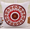 Cotton Canvas Embroidery Countryside Cushion Fashion Pillow (GL04-554)