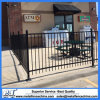 2 Rail Flat Top Ornamental Wrought Iron Fencing