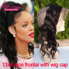 8A Grade Unprocessed Brazilian Lace Frontal Closure 13X4 360 Lace Band Frontals with Cap with Adjust Strap 360 Lace Frontal