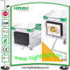Plastic Shopping Cart Advertising Frame
