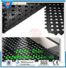 Interlocking Rubber Mat, Workshop Mat, Anti-Fatigue Rubber Mat Drainage Rubber Mat