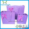 Custom Wedding Paper Bag Silk Gift Bag with Handle