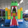Cocowater Design Inflatable Frog Theme Jumping Castle for Kids LG9050