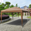 10X20FT Folding Gazebo with Saidwall Canopy Tent