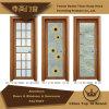 Aluminium Casement Door with Ornament for Houses Decoration