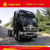 440HP Sinotruk HOWO T7h 6X4 Heavy Head Trcator Truck