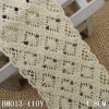 New Design Thick Wide Cotton Crochet Lace for Hometextiles