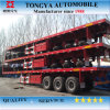 3 Axle Flat Bed Semi Trailer