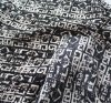 Printed Chemical Fabric 100viscose Fashion Dresses Clothing