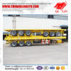 40feet 3axle Flatbed Semi Trailer