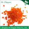 Orange Decorative Glass Beads for Swimming Pool