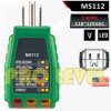 Professional 3 Wire GFCI Outlet Tester (MS112)