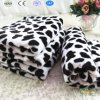 Black and White Leopard Coral Fleece Blankets
