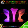 Remote Controller Lounge Furniture Shiny LED Bar Stool