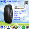 Bt968 295/80r22.5 Radial Truck Tyre for Steel and Trailer Wheels