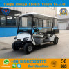 Zhongyi 4 Passengers off Road Battery Powered Classic Shuttle Sightseeing Cargo Mini Electric Golf Carts for Sale