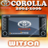 Car Radio Navigation for Toyota Corolla (W2-D9118T)