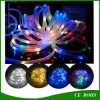 10m 100 LEDs Solar LED Rope Tube String Fairy Lights Waterproof Outdoor Garden Christmas Party Decor Lights