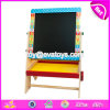 Wholesale Cheap Children Educational Toys Natural Wooden Adjustable Kids Chalkboard W12b110