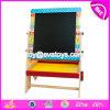 Wholesale Cheap Children Educational Toys Natural Wooden Adjustable Kids Chalkboard W12b110