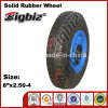 China Factory Cheap 2.50-4 Solid Rubber Wheel