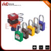 38mm Metal Shackle Plastic Safety Padlock with Colorful Bodies