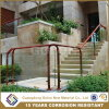 Decorative Frameless Glass Staircase Railing Design