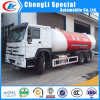 Sinotruk 336HP Diesel 20000liters 10ton 10mt LPG Bobtail Tanker Truck for Sale