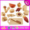 Pretend to Play Wooden Food Toys for Kids, Special New Arrival Pretend Play Wooden Cutting Toy for Children W10b129