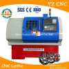 Ce Certificate High Precision Awr Alloy Wheel CNC Lathe Machine