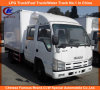 Cooling Isuzu Reefer Truck in Thermo King Refrigerator Van Truck