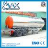 2 Axle Round Shape Oil Tank Semi Trailer