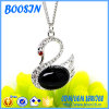 Cheap Elegant Opal Swan Shape Necklace for Women