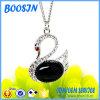 Cheap Elegant Opal Swan Shape Necklace for Women
