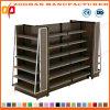 High Quality Gondola Steel and Wood Style Supermarket Shelf (ZHs646)
